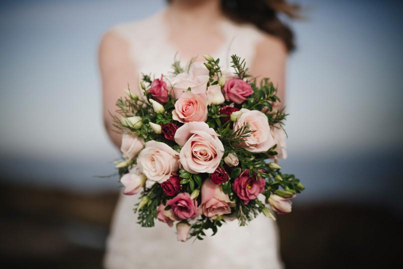 Wild rose boquet
