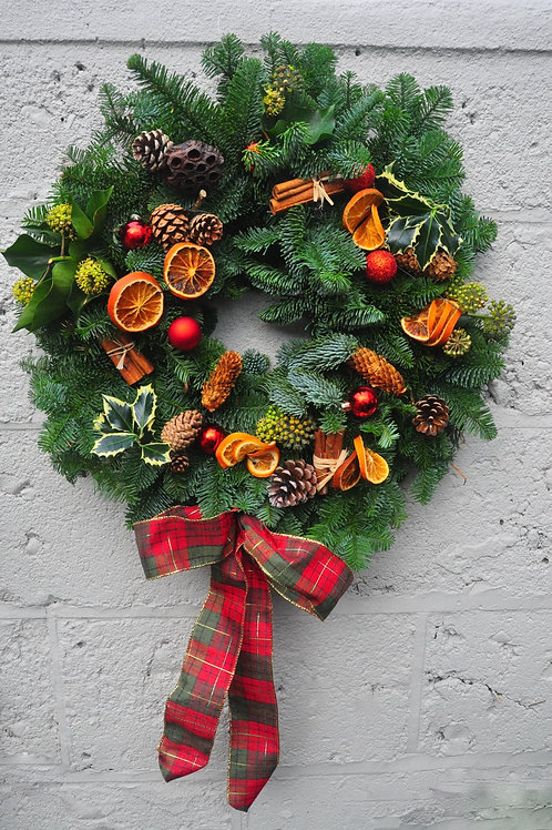 Citrus Spice Wreath