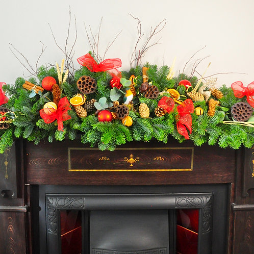 Luxury Mantelpiece Garland
