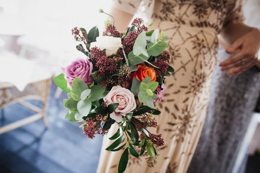 Winter Bridesmaid