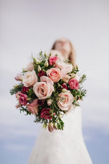 Rustic rose boquet