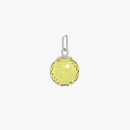 Подвеска Classic, лимонный кварц, 12