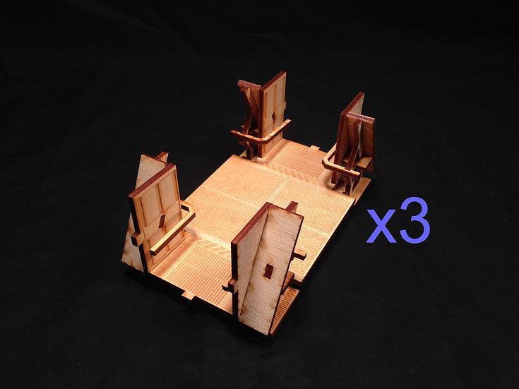 2-Side Corridor 3-Pack