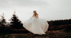 Brautkleidshoot im Harz