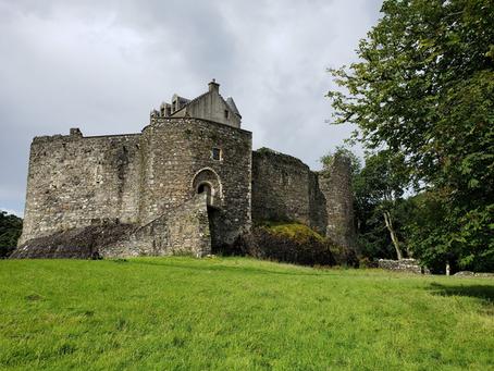 The Backyard Writer in Scotland