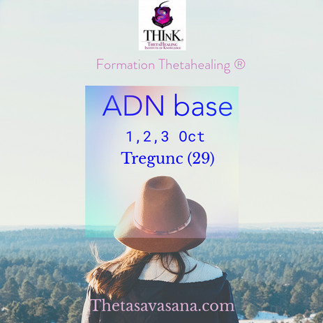 prochaine formation Thétahealing