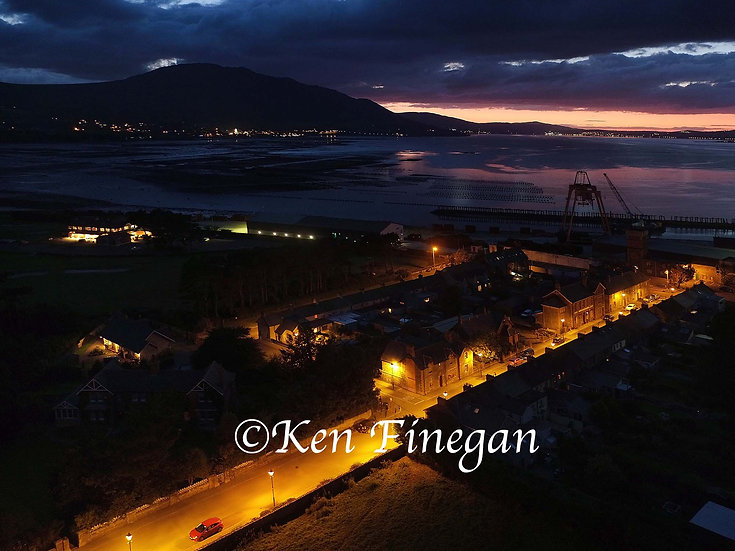 Greenore night, County Louth