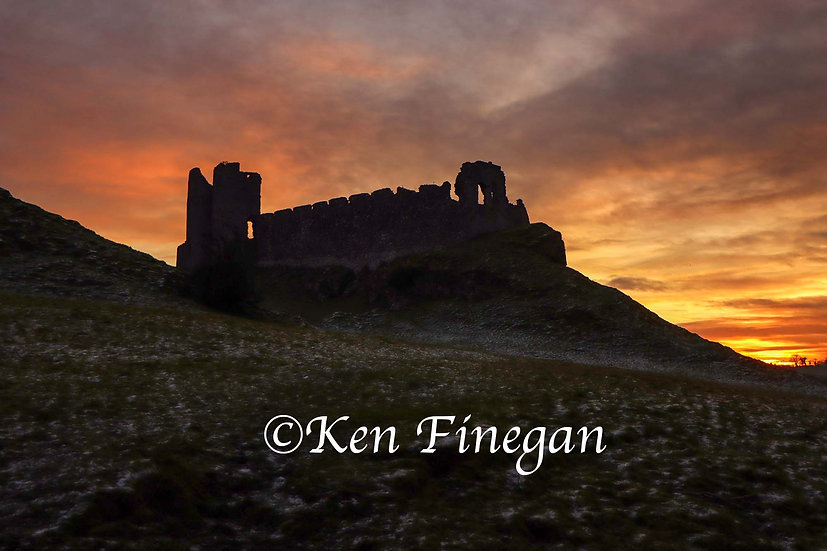 Roche Castle Sunset 01, County Louth