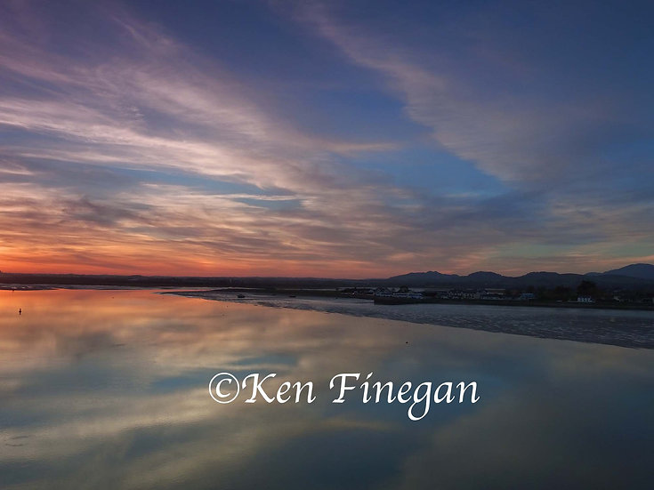 Bellurgan Sunset, County Louth