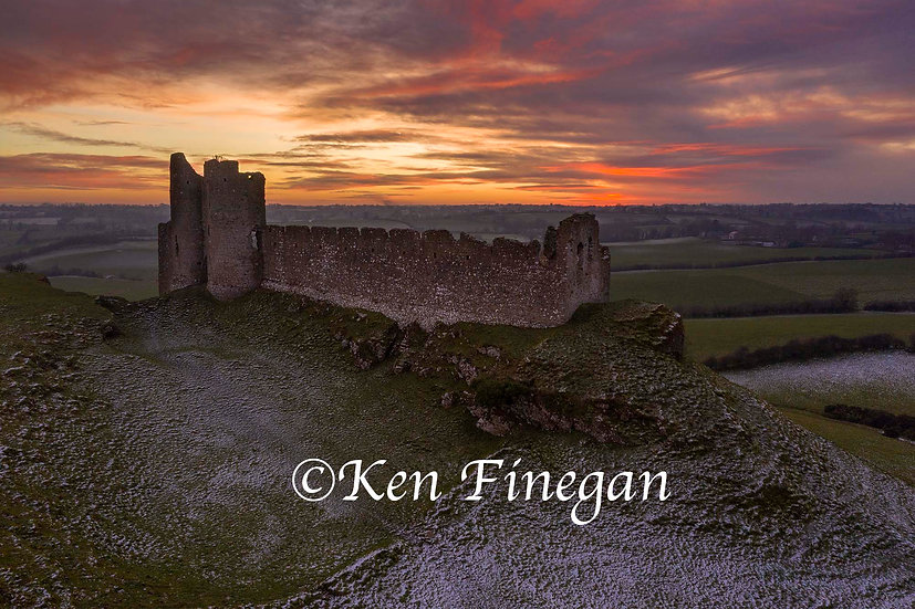 Roche Castle Sunset 04, County Louth