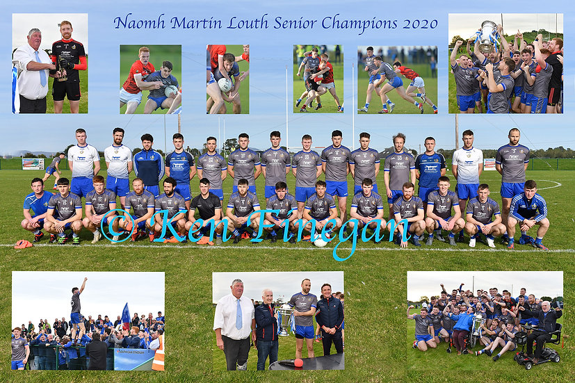 Selection of Louth Senior Championship 2020