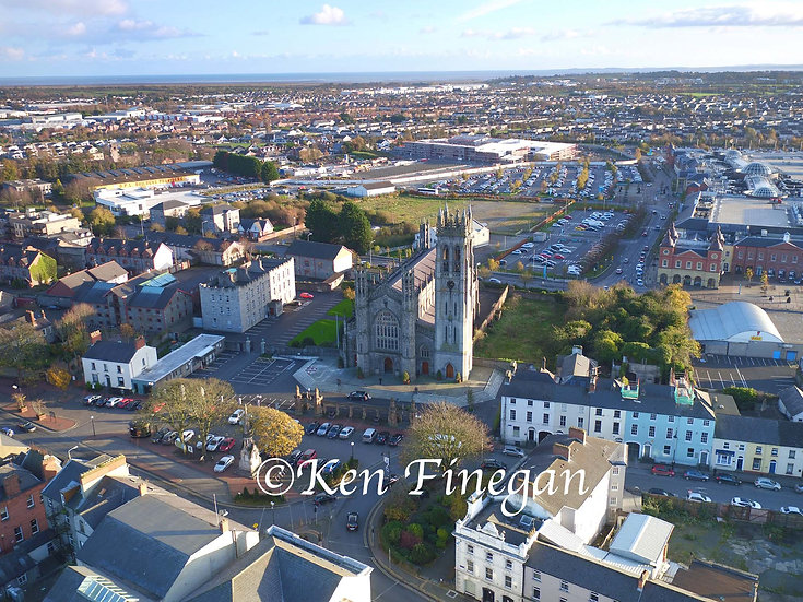 Dundalk Town Aerial 01