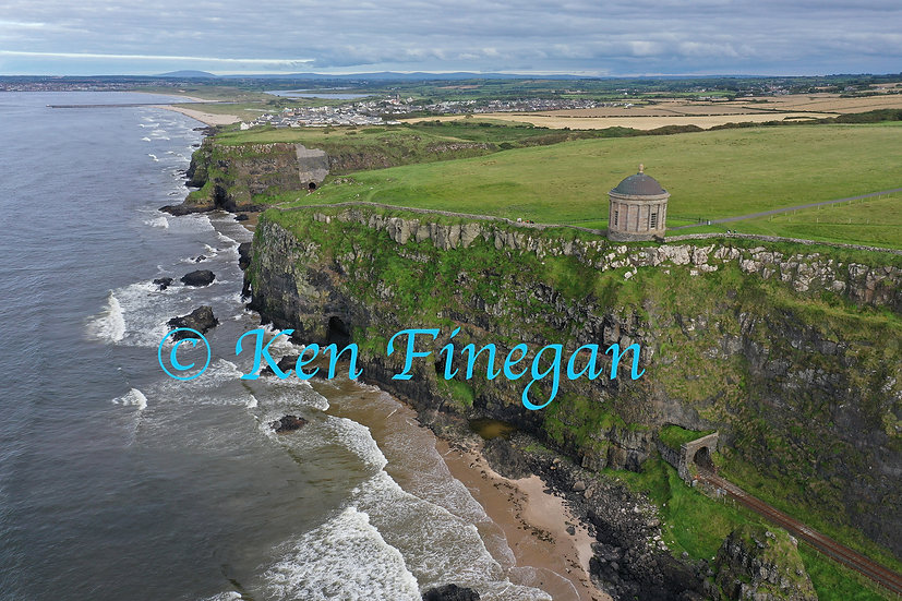 Musseden Temple and Castlerock 02, County Derry