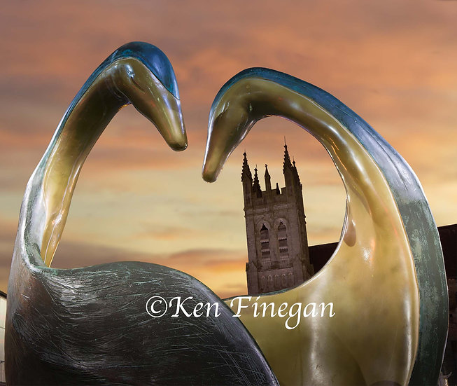 Heart Space sculpture, Dundalk, County Louth