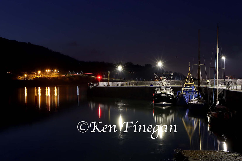 Carlingford night 01, County Louth