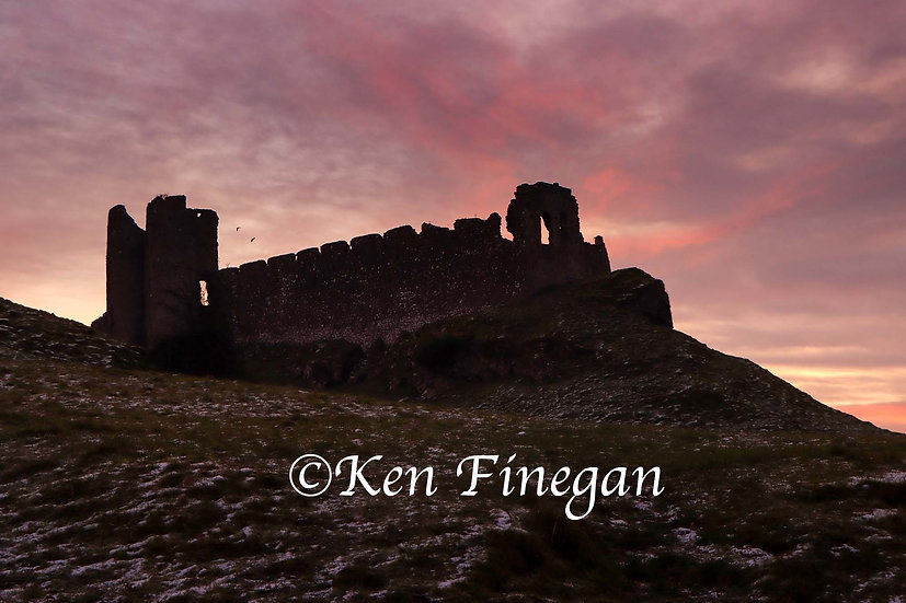Roche Castle Sunset 03, County Louth