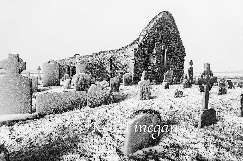 Cill Mhuire in the Snow 2, Co. Louth
