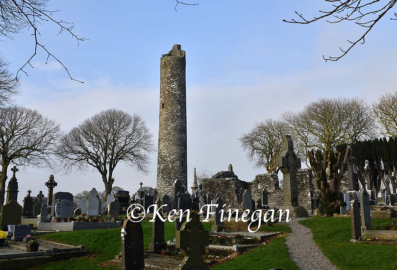 Monasterboice  Tower 02, County Louth