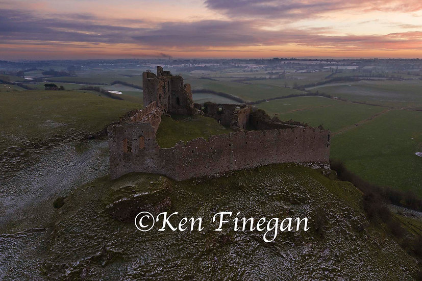 Roche Castle Sunset 02, County Louth