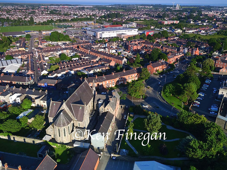 Dundalk Town Aerial 02, County Louth