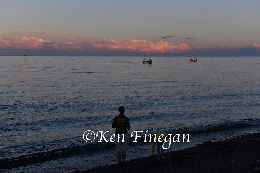 Fishing at Greenore