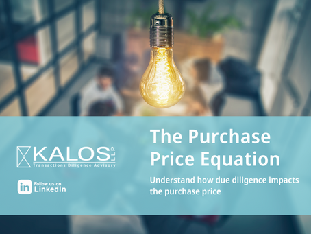 Due Diligence and the Purchase Price