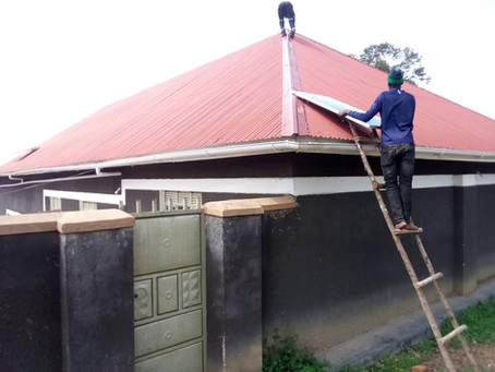 Projekt: Gehörlosenschule Uganda Jungenschlafsaal