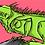 Thumbnail: Tirage signé série WILD : IGUANE