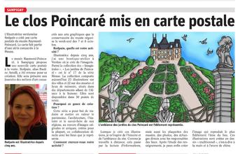Création visuel pour le Clos Poincaré 2017