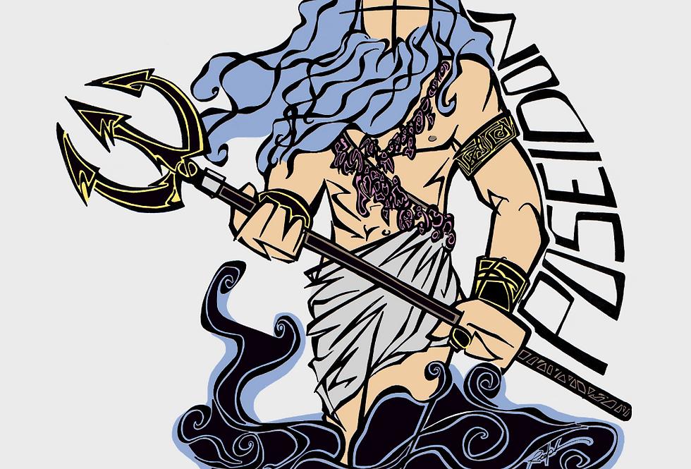 MYTHOLOGIE GRECQUE: POSEIDON