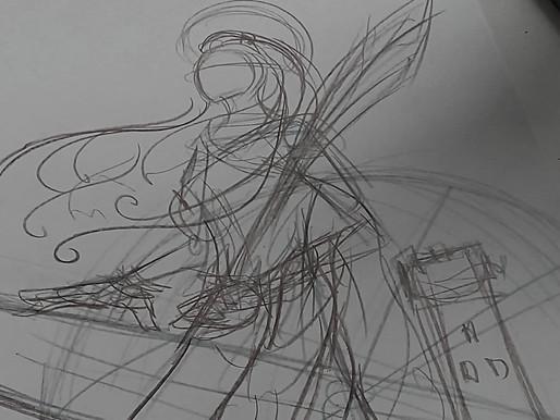 SAINTE BARBE | Making of illustré