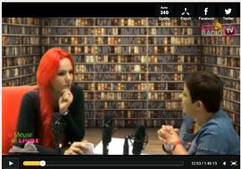 """Interview dans l'émission 'la meuse se livre"""" 2015"""