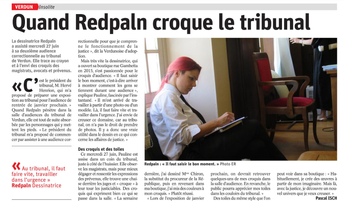 Interventions au tribunal de Verdun 2018