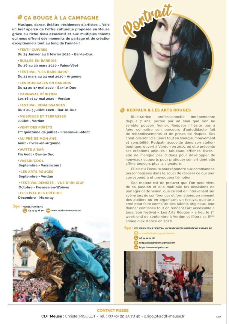Dossier de presse Meuse Tourisme 2020