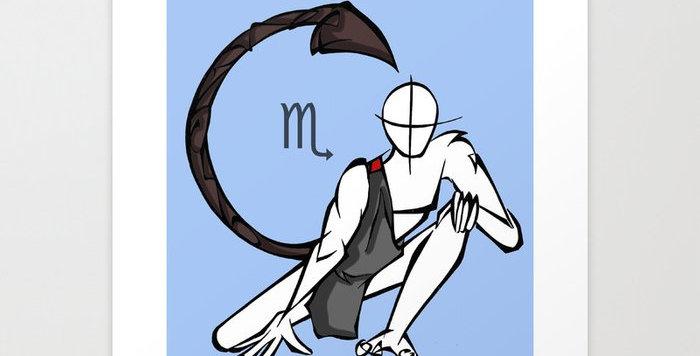 Série Zodiaque: Scorpion