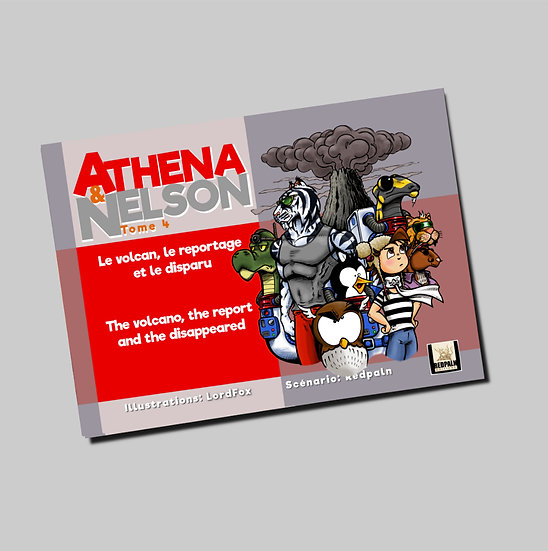 Athéna & Nelson tome 4