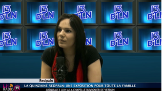 """Interview """"13dLN"""" pour la présentation de la nouvelle expo"""