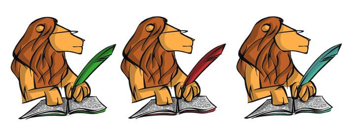 LION A PLUME |