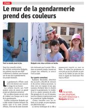 Fresque Etain 2018 gendarmerie