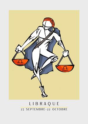 ZODIAQUE | LIBRAQUE - BALANCE