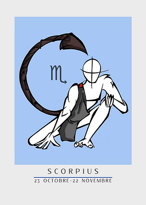 ZODIAQUE | SCORPIUS - SCORPION