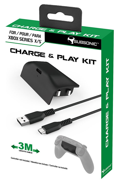 Xbox Series S / X Play & Charge Kit - controller Rechargeable Battery Pack