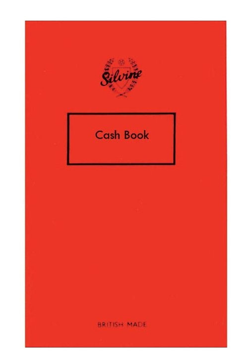 Silvine Cash Book - 68 Page Notebook - Four Column Analysis - 160mm x 100mm