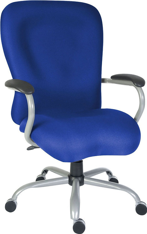 Teknik Titan Heavy Duty Operator Chair, Suitable for 24 Hour Use - Blue