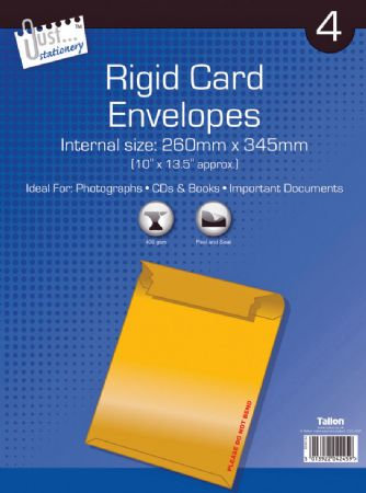 4pk Board Envelope 260 x 345mm