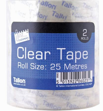 2 Roll Clear Tape / Parcel Tape