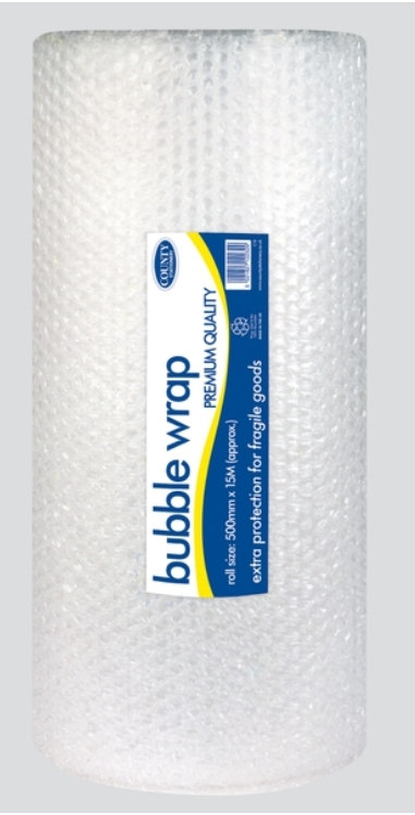 Bubble Wrap Roll - Extra large 50cm x 15m