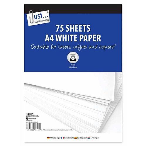 75 Sheets A4 Copier Paper 80gsm