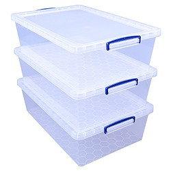 43 litre nestable Really Useful Box (3 pack)