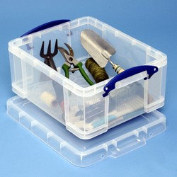 21 litre Really Useful Box + 2x Large tray 12
